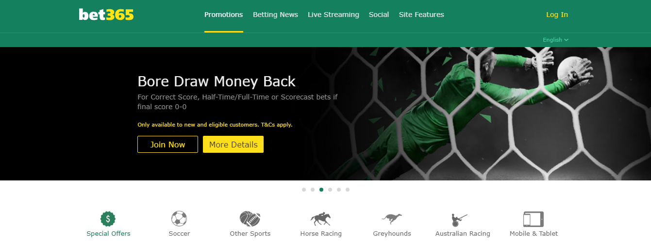 Bonus Bet365 money back - bookmaker.co.ke