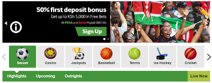 Betway sport jackpot - bookmaker.co.ke