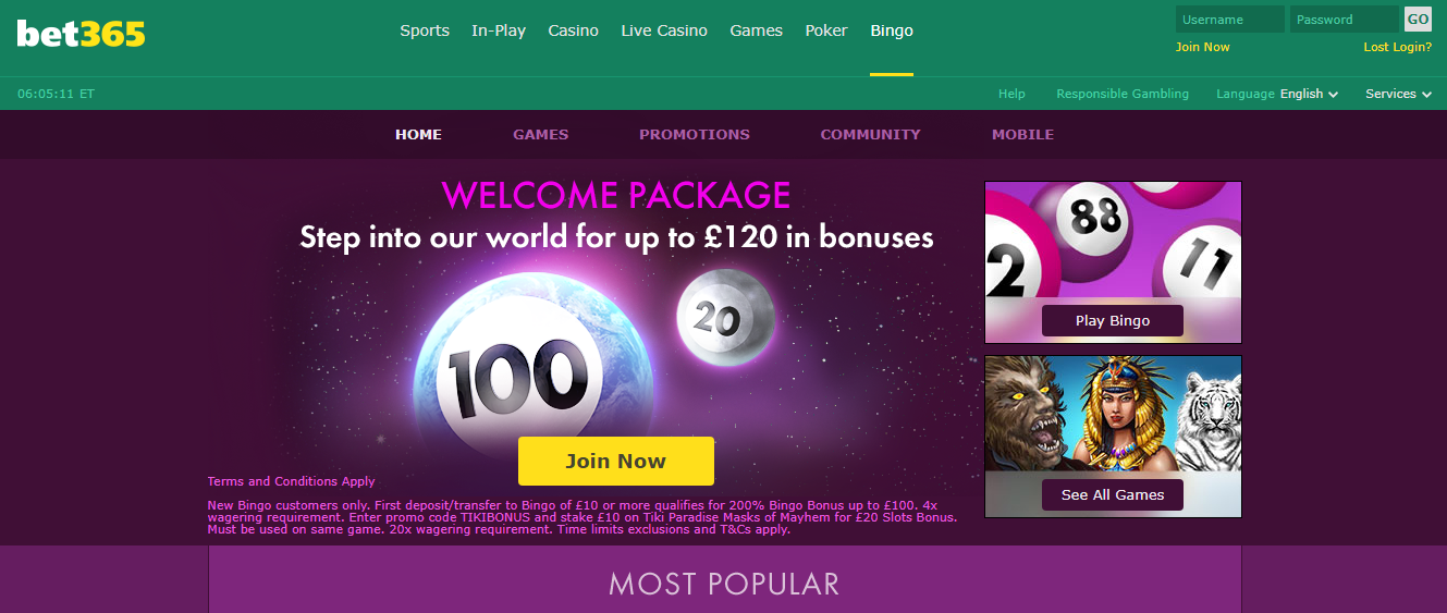 Win casino Bet 365 - bookmaker.co.ke