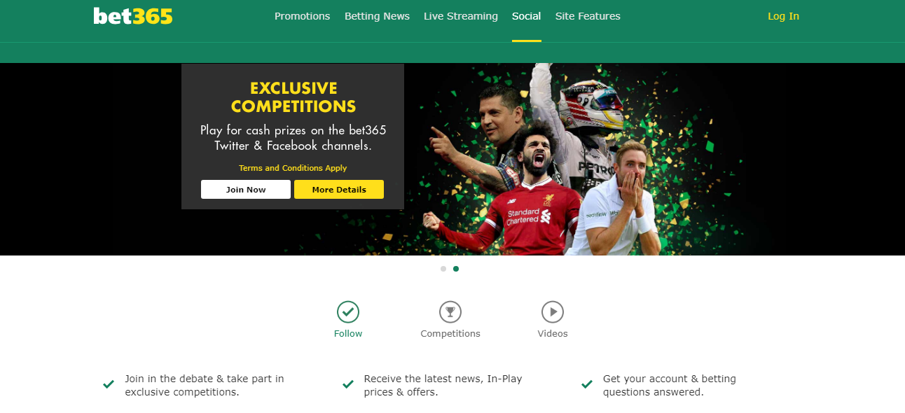 Bookmaker Bet365 - bookmaker.co.ke