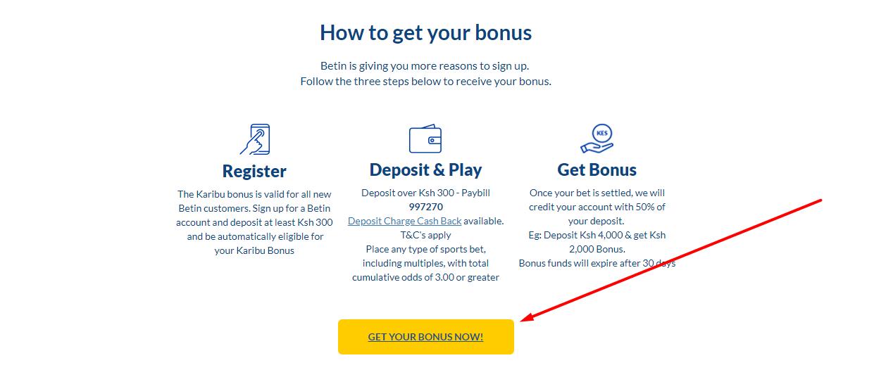 Promo bonus code