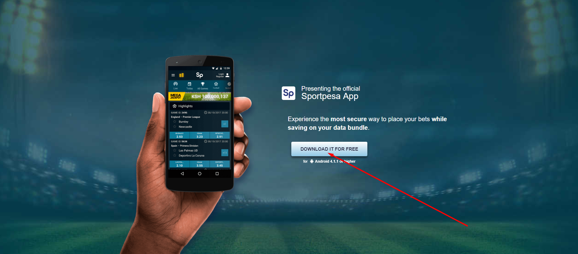 🥇 SPORTPESA app download 🥇 APK mobile Sportpesa original