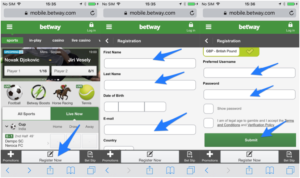 Betwey login and registration in Kenya bookmaker.co.ke
