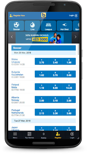 🥇 BETIN mobile login in Kenya 🏆 Old mobile and new app