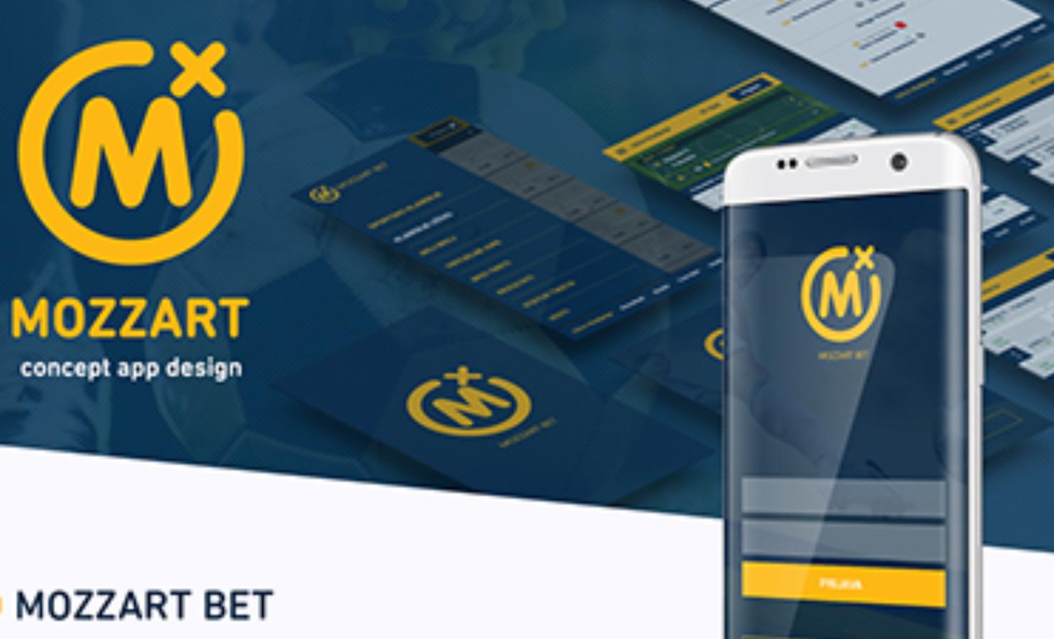 Mozzart bet app functionality